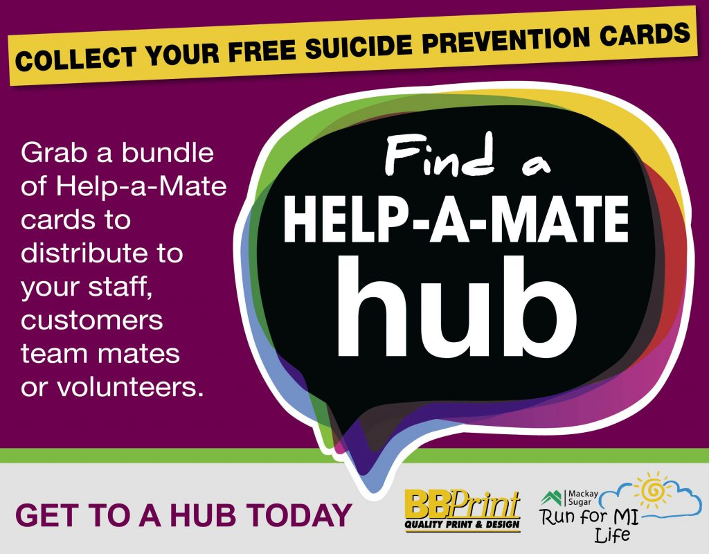 Help a mate hubs grapevine group assoc inc grapevine group has launched our life saving help a mate hubs campaign within the mackay region with the goal to distribute 20000 grapevine help a mate reheart Image collections